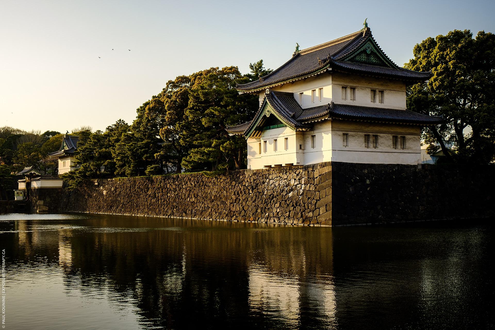 Normal focal length lens on APS-C format Tokyo Imperial Palae